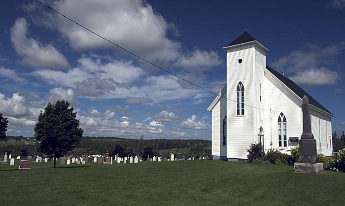 Church On Prince Edward Island